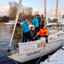 Учебная яхта подготовки к экспедиции